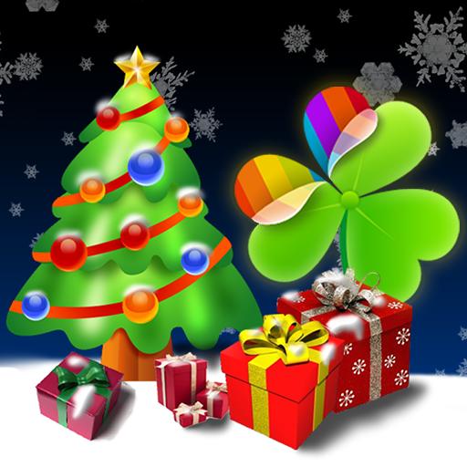 個人化App|ランチャーEXのクリスマスツリーをGO LOGO-3C達人阿輝的APP