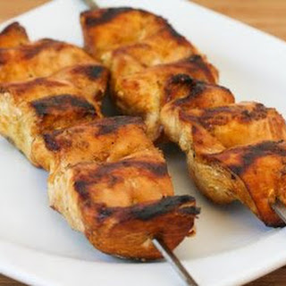 Grilled Skinless Chicken (Thighs or Breasts) with Asian Marinade.
