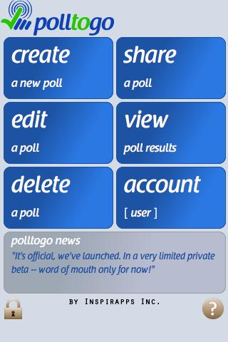 polltogo - Mobile poll maker - screenshot