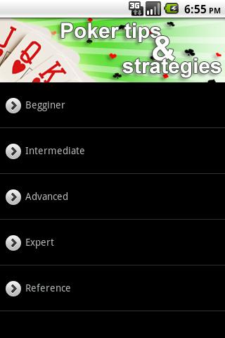 Poker Tips & Strategy - screenshot