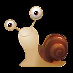 Cartoon Snail Cute Theme