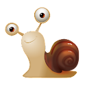 Cartoon Snail Cute Theme icon