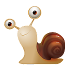 Cartoon Snail Cute Theme icon