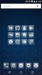 Glasklart - Icon Pack- screenshot thumbnail