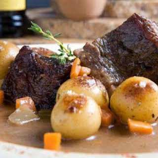 Beef Braised in Red Wine.