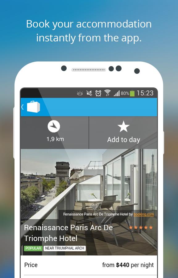 Paris Travel Guide & Map - screenshot