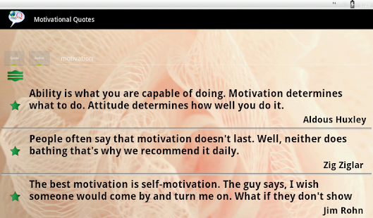 Motivational Quotes- screenshot thumbnail