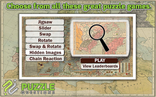 Old Maps Puzzle Games