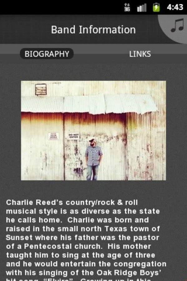 Charlie Reed - screenshot