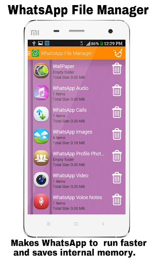 File Manager for WhatsApp