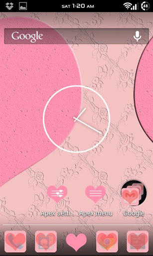 Love Pink Apex Theme Free
