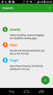 Greenify Screenshot 1