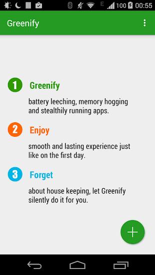 Greenify- screenshot thumbnail