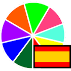 Colors in Spanish icon