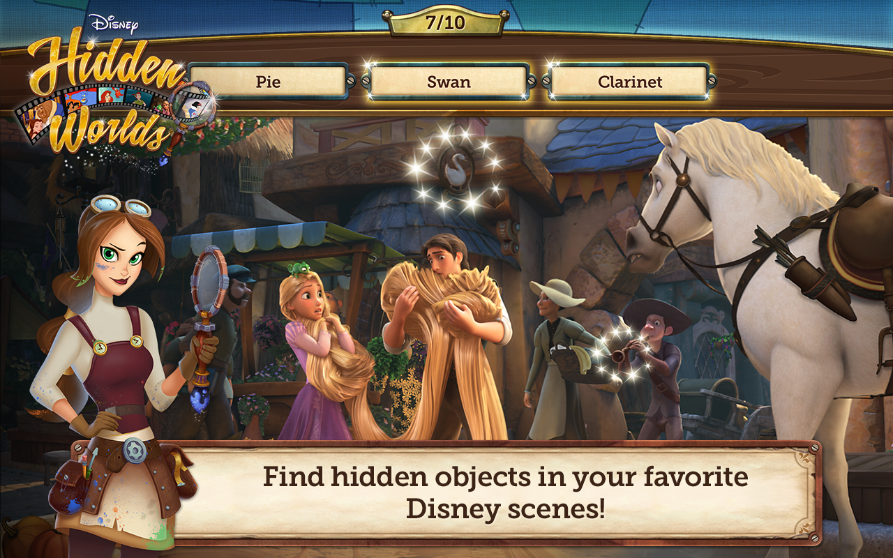 Disney Hidden Worlds - screenshot