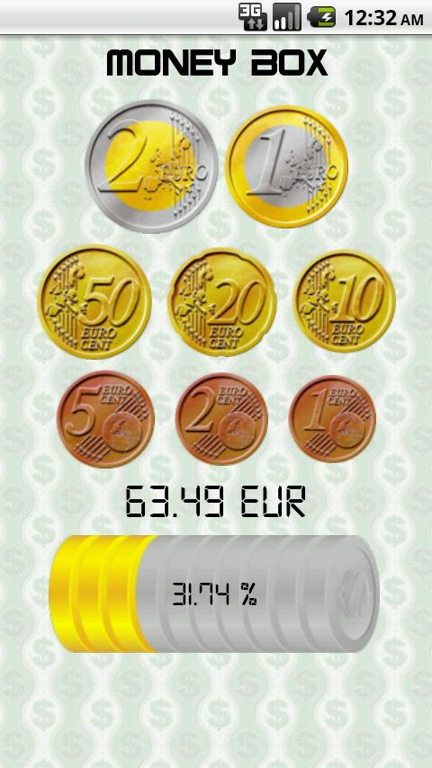 Money Box- screenshot