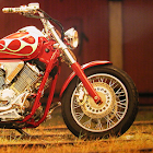 Motorcycle racing car Puzzle icon