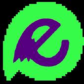 Evolve Theme Purple and Green