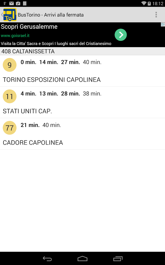 Bus Torino - screenshot