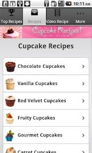 Cupcake Recipes!!- screenshot thumbnail