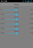 Screenshot of Bright Sound (Audio Player)