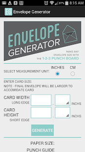 Envelope Generator- screenshot thumbnail