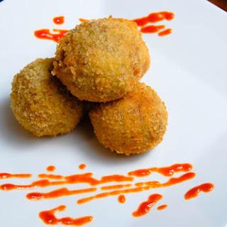 Deep Fried Pork & Potato Balls.