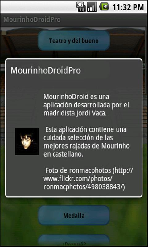 MourinhoDroidLite - screenshot