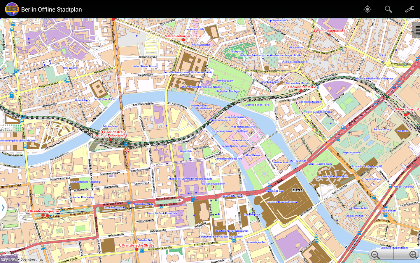 Berlin Offline City Map- screenshot