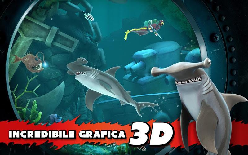 Hungry Shark Evolution Mod APK v3.0.8
