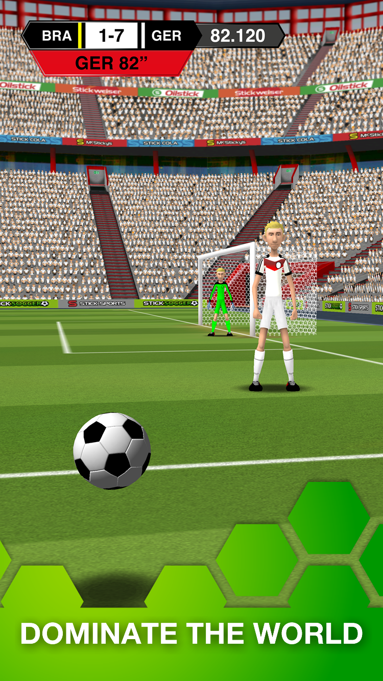 Stick Soccer screenshot #4