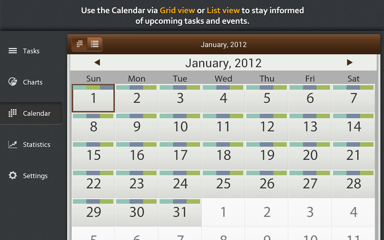 Schedule Planner - screenshot