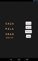 Screenshot of Caça Palavras Bíblico
