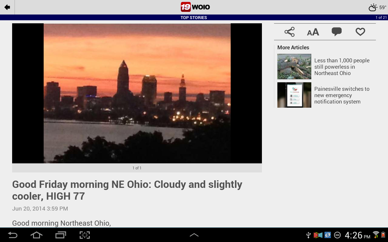 WOIO 19 News - screenshot