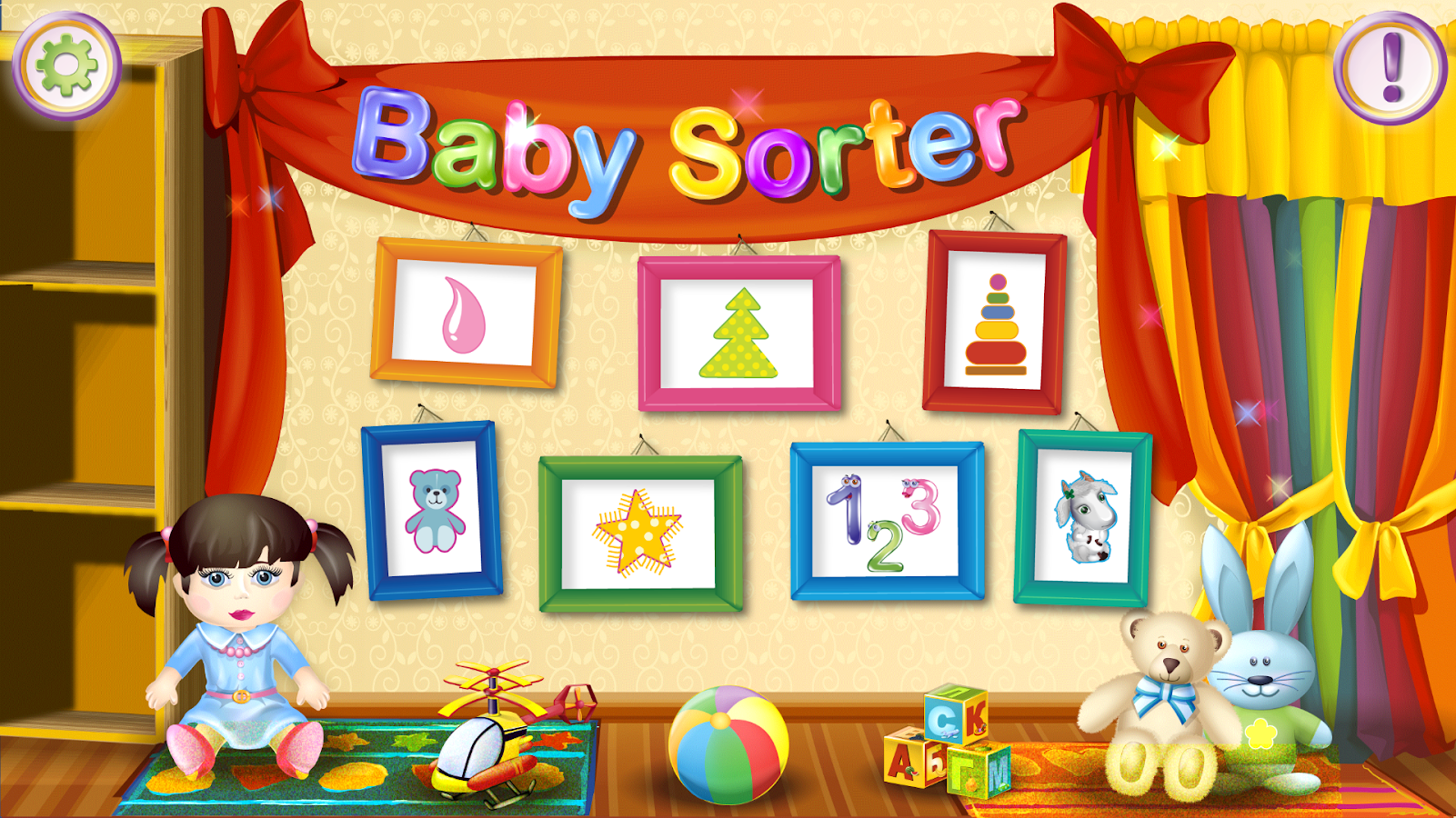 Baby Sorter- screenshot