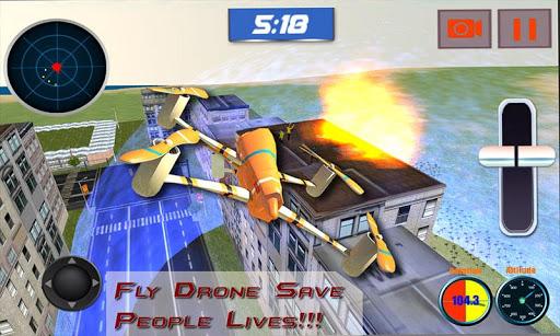 抢救无人机四轴飞行器辛3D