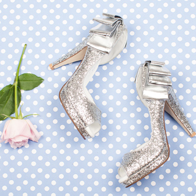 Bridal high heels for your wedding day