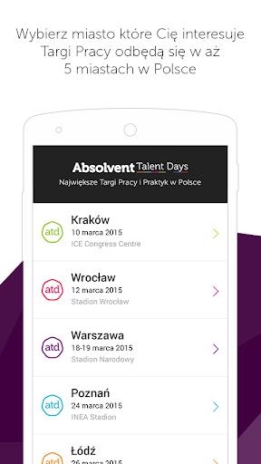 Absolvent Talent Days 2015