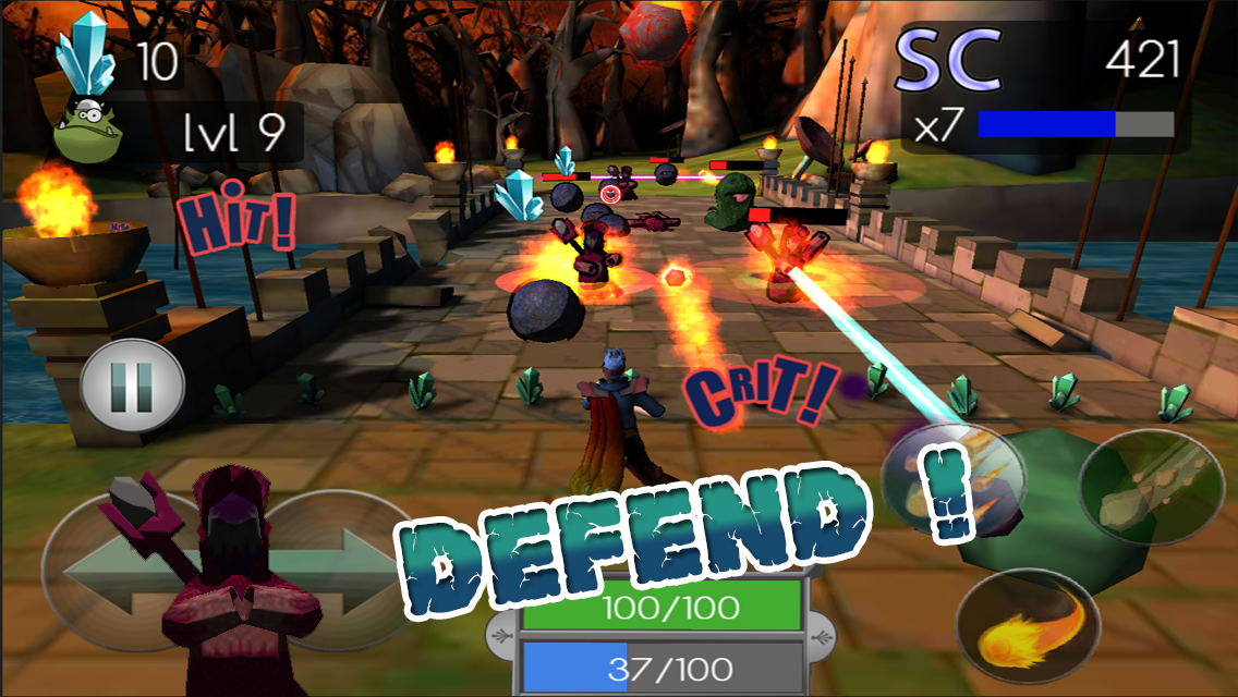 Mana Defense - screenshot