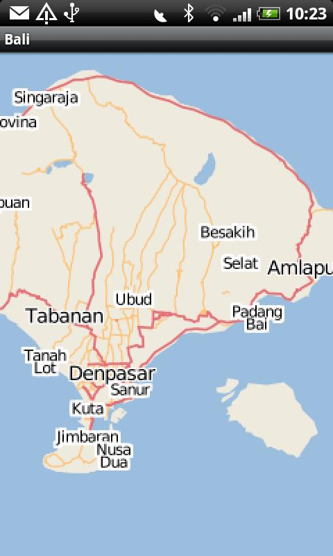 Bali Street Map Android Reviews At Android Quality Index