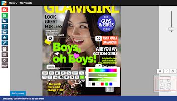 Screenshot of Posterini