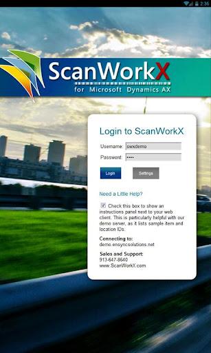 ScanWorkX Client
