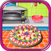 Yummy Fruit Pizza Cooking Game
