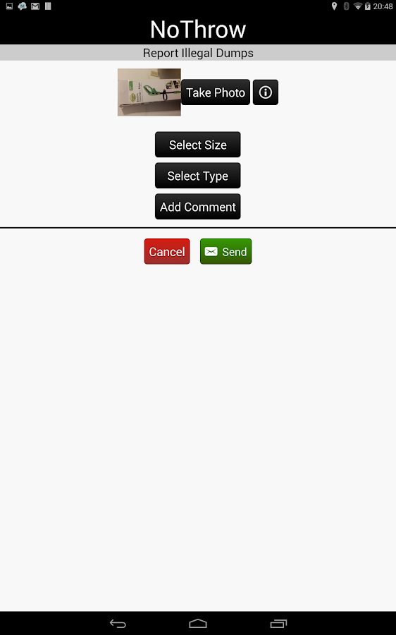 NoThrow- screenshot