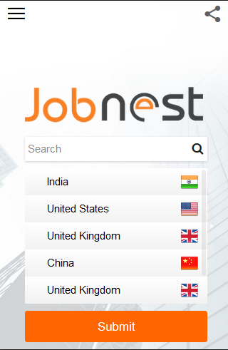 Job Nest Jobs search engine