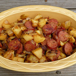 Kielbasa and Potatoes.