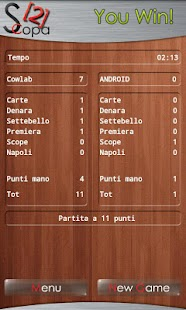 Scopa HD - screenshot thumbnail