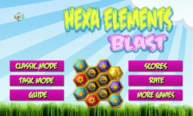 Hexa Elements Blast - screenshot