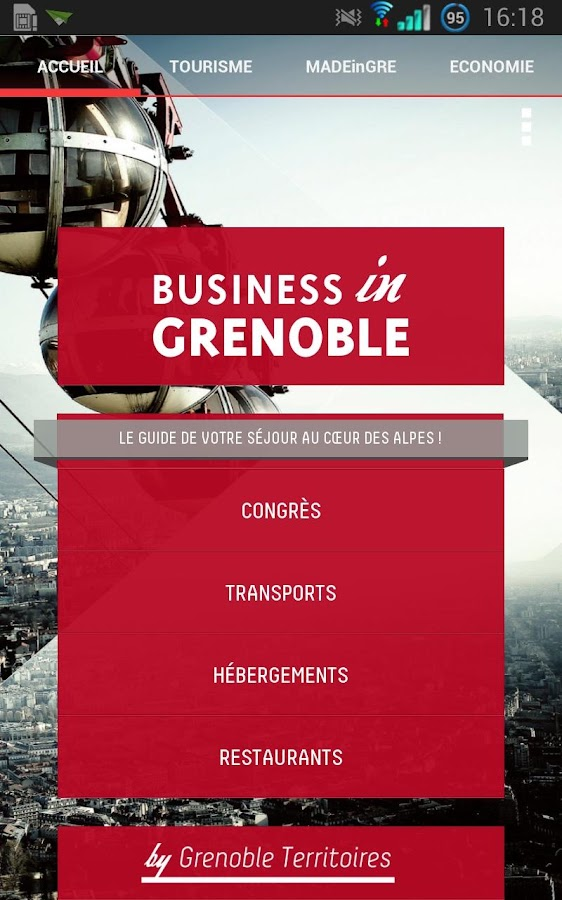 Business in Grenoble- screenshot