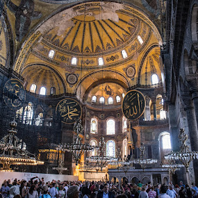 Packed by Lauren Carroll - Buildings & Architecture Places of Worship ( christian, beauty, turkey, istanbul, worship,  )